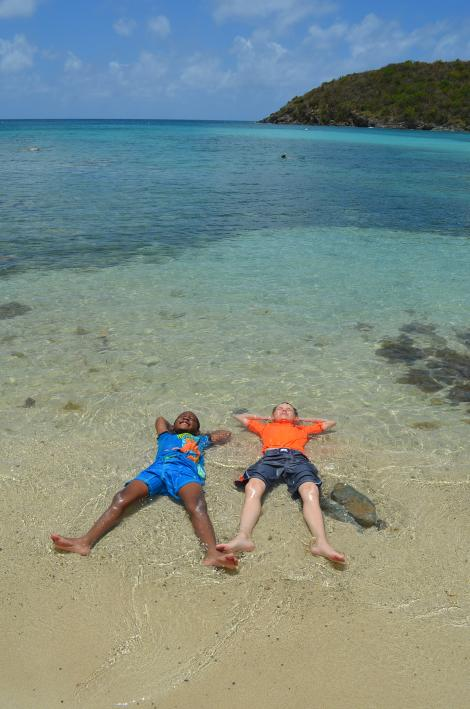 Just Chillin'Kimberly Hall caught these kids relaxing in Virgin Islands National Park. Her photo won in the every kid in a park category. PHOTOGRAPH BY KIMBERLY HALL